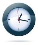 Horloge de vecteur Photographie stock libre de droits