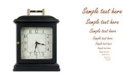 Horloge de vieux type Photos stock
