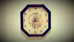 Horloge de vintage de style ancien Images libres de droits