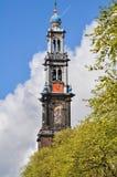 Horloge de zodiaque dans l'église de St Mary de Rostock, Allemagne images libres de droits