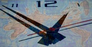 Horloge du monde Photo libre de droits
