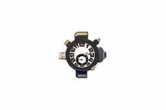Horloge en massa-opslagapparaat Stock Foto's