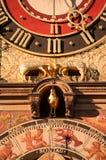 Horloge et façade principales de ville chez Rathaus dans Heilbronn, Allemagne Photo libre de droits