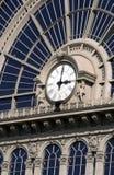 Horloge ferroviaire, Hongrie Budapest Photos stock