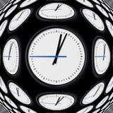 Horloge géante illustration de vecteur