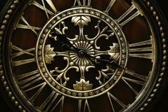 Horloge gothique Photographie stock libre de droits