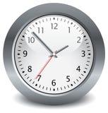 Horloge grise Photo libre de droits
