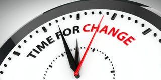 Horloge - heure pour le changement #2 illustration de vecteur