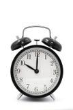 Horloge (10 heures) Images libres de droits