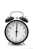 Horloge (6 heures) Image stock