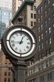 Horloge historique de la 5ème avenue (NYC) Images libres de droits