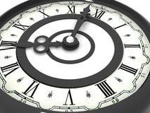 Horloge. huit heures photographie stock libre de droits