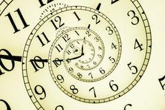 Horloge hypnotique Photo libre de droits