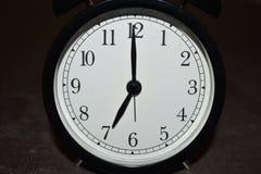 Horloge indiquant différentes périodes photo stock