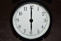 Horloge indiquant différentes périodes photos libres de droits