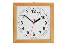 Horloge inverse Image stock