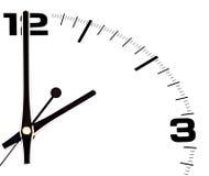 Horloge of klok Royalty-vrije Stock Foto