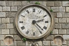 Horloge Kotor image libre de droits