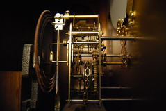 Horloge mécanique Photos libres de droits