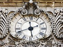 Horloge médiévale tardive Image stock