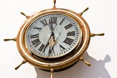 Horloge marine Photographie stock libre de droits