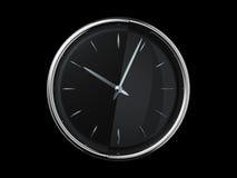 Horloge moderne en métal Illustration de Vecteur