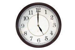 Horloge murale Image libre de droits