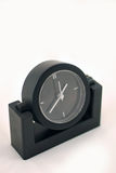 horloge noire Images libres de droits