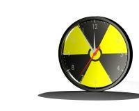 Horloge nucléaire Image libre de droits
