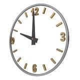horloge ouverte Photo libre de droits