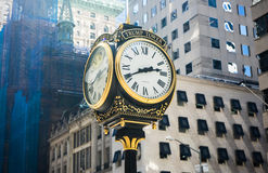 Horloge pour la tour d'atout, New York Images stock