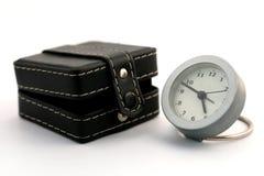 Horloge près du cadre Photo libre de droits