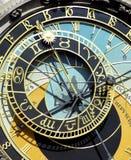 Horloge, Praag Stock Afbeeldingen