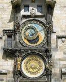 Horloge, Praga Foto de Stock Royalty Free