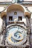 Horloge a Praga Fotografia Stock