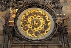 Horloge Prague Photo libre de droits