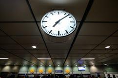 Horloge publique photo libre de droits