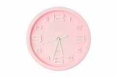 Horloge rose Photographie stock libre de droits