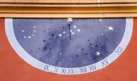Horloge solaire Photographie stock