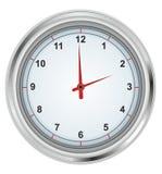 Horloge sur un fond blanc Image libre de droits