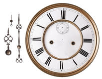 horloge vieille image stock