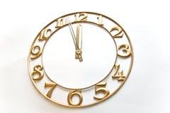 Horloge-visage photos libres de droits