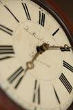 Horloge-visage antique image libre de droits