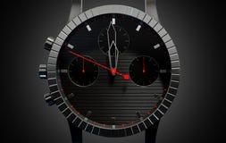 Horlogeclose-ups Royalty-vrije Stock Afbeeldingen