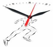 Horlogehanden Stock Foto's