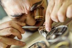 horlogemaker Stock Afbeelding