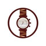 Horlogepictogram Stock Foto's