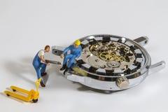 Horlogereparatie Royalty-vrije Stock Fotografie