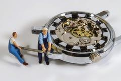Horlogereparatie Stock Foto
