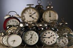 Horloges Photographie stock libre de droits